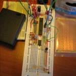 Breadboarded Light and Temp Logger